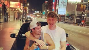 Joe Exotic's Husband Dillon Passage Parties With 'Too Hot To Handle' Cast Members On A Boat!