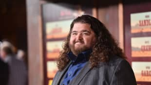 Jorge Garcia attends the premiere of Netflix's The Ridiculous 6 at AMC Universal City Walk on November 30, 2015 in Universal City, California.
