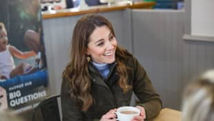 Duchess Catherine shares her favourite new photo of Princess Charlotte!