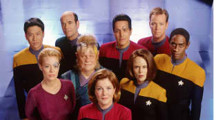 The cast of 'Star Trek: Voyager'