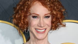 "Kathy Griffin Is In The Hospital With ""Unbearably Painful"" Symptoms Of COVID-19"
