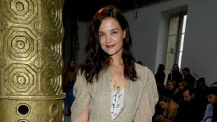 """Katie Holmes On Raising Daughter Suri 'Into Her Individuality': """"She Came Out Very Strong:"""