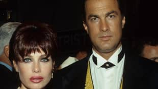 Meet Kelly LeBrock's three husbands - including Steven Seagal