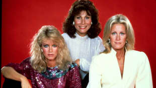 Joan Van Ark, Michele Lee and Donna Mills in 1983