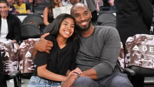 Kobe Bryant and his daughter Gianna Bryant