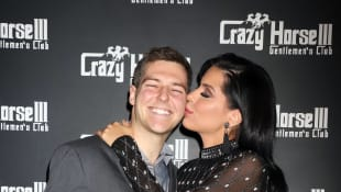 90 Day Fiancé Larissa Dos Santos Divorce Party held at the Crazy Horse 3, Las Vegas, NV.