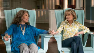 Lily Tomlin and Jane Fonda in 'Grace and Frankie'.