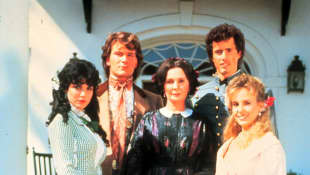"The ""Main"" family with ""Orry Main"" (2nd from left) in 'North and South'."
