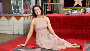 Mandy Moore is honored with a star on The Hollywood Walk Of Fame
