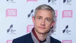 "Martin Freeman attends ""The Operative"" UK premiere at Picturehouse Central on November 14, 2019"