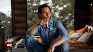 Matthew McConaughey reveals he was almost bitten by a venomous snake in Australia!
