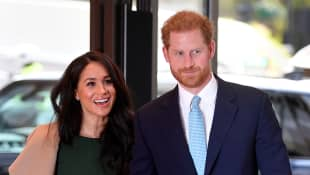Duchess Meghan and Prince Harry share a new candid photo in honour of their engagement anniversary!
