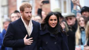 Harry and Meghan's security costs will not be covered by Canada after March