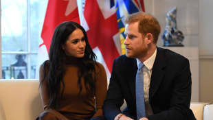 "Duchess Meghan and Prince Harry ""want to commercialise the royal family"", Tom Bower says."