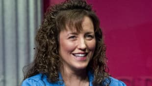 Michelle Duggar pictured in 2012