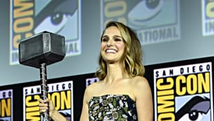 Natalie Portman at Comic-Con 2019