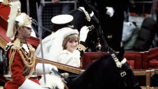 Gorgeous new video of Princess Diana on her wedding day has surfaced! See it here!