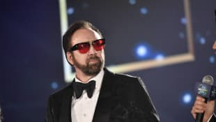 Nicolas Cage at the 2019 Hainan International Film Festival.