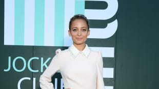 Nicole Richie attends miu miu club event at Hippodrome d'Auteuil on June 29, 2019 in Paris, France