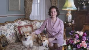 Olivia Colman as Queen Elizabeth II in Season 3 of The Crown.