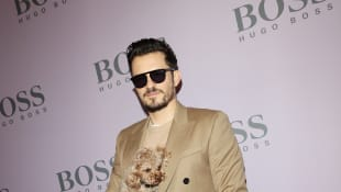 Orlando Bloom Gets A New Tattoo After His Dog Mighty Dies
