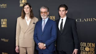 Pierce Brosnan's sons Dylan and Paris are 2020 Golden Globe Ambassadors