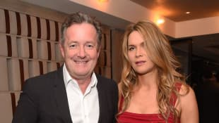 Piers Morgan and Celia Walden Robbed While They Slept