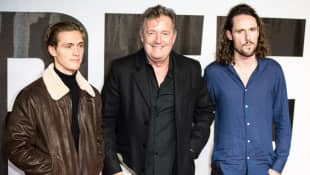 Piers Morgan Apologizes To His Son After Offending Him And Not Seeing Him For 3 Months
