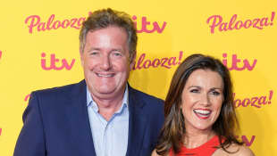 Piers Morgan Reveals His COVID-19 Test Results - Continues To Self-Isolate At Home.