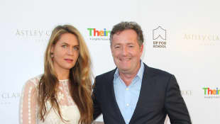 Piers Morgan Shares Rare Date Night Photo With Wife Celia Walden.