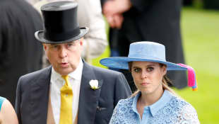 Prince Andrew is still planning to walk Princess Beatrice down the aisle.