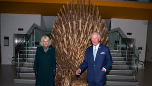 Duchess Camilla and Prince Charles Ulster Museum Belfast