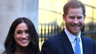 Prince Harry And Meghan Markle Have Had No Visitors Since Isolating In Los Angeles With Archie