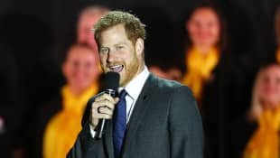 Prince Harry Brings Smiles To Athletes Faces With Inspiring Speech In Video Chat