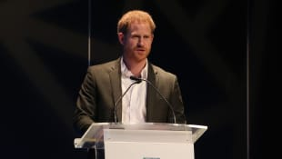 "Prince Harry dropped his royal titles and asked ""to be just called Harry"" in Edinburgh."