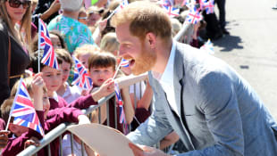 Prince Harry Visits Oxford Children's Hospital