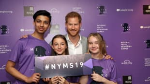 Prince Harry at The Diana Award National Youth Mentoring Summit on July 2nd, 2019