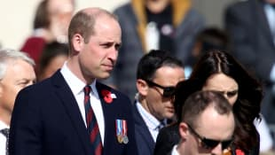 Prince William has checked in with the New Zealand Muslim community