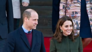 """Prince William says it's important to """"move forward"""" at his first royal engagement in 2020."""