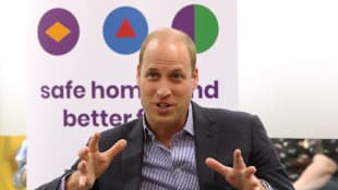 Prince William visits the Albert Kennedy Trust on June 26th, 2019