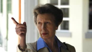 "Princess Anne urges the younger royals to ""go back to basics""."