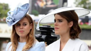 Princess Beatrice And Princess Eugenie Get Emotional During Teenage Cancer Trust Awards