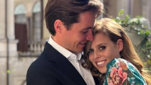 Princess Beatrice and Edoardo Mapell