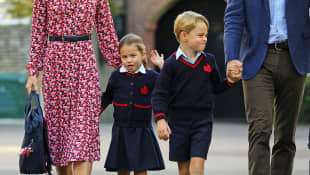 Princess Charlotte and Prince George Thomas's Battersea