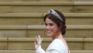 Princess Eugenie Posts Never Before Seen Photos for Anniversary With Jack Brooksbank - See Them Here!