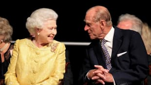 The Queen and Prince Philip in Halifax, Canada