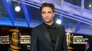 Robert Pattinson on the red carpet