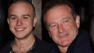 Robin Williams and Zachary Williams