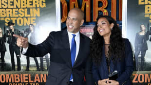 "Rosario Dawson Had to Be Sure She Wanted Boyfriend Cory Booker to Be ""Her Person"""