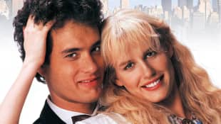 'Splash' Stars Tom Hanks And Daryl Hannah Reunite And Dish On Their Underwater Kiss